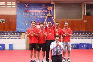 Bế mạc Giải bóng bàn Cúp Hội Nhà báo Việt Nam 2020
