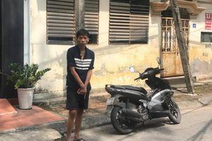 Đang trộm xe máy thì bị chủ nhà phát hiện bắt giữ