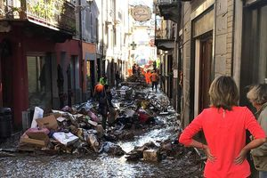 Phát hiện 7 thi thể ở Italy và Pháp sau trận bão lớn