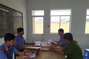 VKSND huyện Gò Công Đông kiểm sát trực tiếp tại Cơ quan Thi hành án hình sự