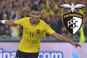 Cầu thủ Malaysia từng xé lưới tuyển Việt Nam sang Bồ Đào Nha thi đấu