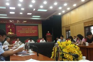 Thái Nguyên: Hoàn tất công tác chuẩn bị Đại hội đại biểu Đảng bộ tỉnh lần thứ XX