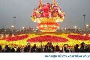 425 triệu người di du lịch trong 4 ngày nghỉ đầu tiên ở Trung Quốc