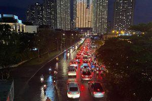 Phương án di chuyển khi cấm xe qua cầu vượt Nguyễn Hữu Cảnh