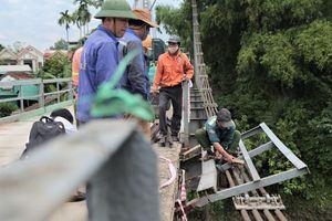 Đề xuất xây cầu mới sau vụ ôtô rơi xuống sông