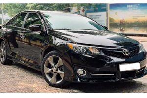 Toyota Camry SE nhập Mỹ chạy 8 năm, hơn 800 triệu ở Hải Phòng