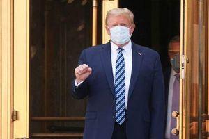 Vừa xuất viện, Tổng thống Trump đã lên kế hoạch tham gia cuộc tranh luận tiếp theo
