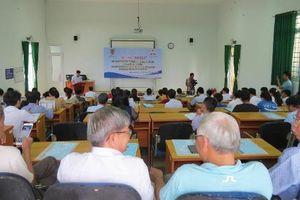Trường CĐ Luật miền Trung: Khai giảng lớp bồi dưỡng kiến thức pháp luật kinh doanh cho doanh nghiệp