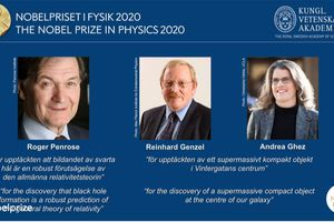 Nobel Vật lý 2020 tôn vinh các nghiên cứu về hố đen