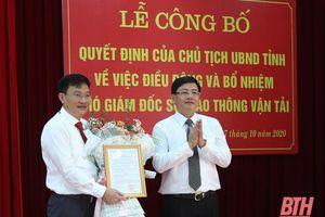 Phó Chủ tịch TP Sầm Sơn làm Phó Giám đốc Sở GTVT Thanh Hóa
