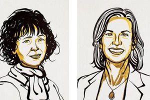 Hai nhà khoa học nữ trở thành chủ nhân giải Nobel Hóa học 2020