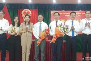 Hoàng Mai bầu bổ sung chức danh Phó Chủ tịch UBND thị xã