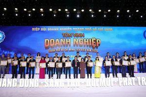 TPHCM tôn vinh 100 doanh nghiệp, 100 doanh nhân tiêu biểu năm 2020