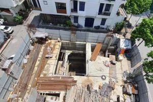 Cấp phép 'lạ' cho nhà phố 4 tầng hầm: Hà Nội loay hoay xử lý?