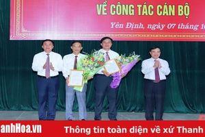 Công bố các quyết định của Ban Thường vụ Tỉnh ủy Thanh Hóa về công tác cán bộ