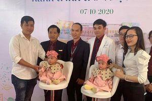 84 ngày sau kỳ tích phẫu thuật tách rời, 'song Nhi' đã được xuất viện