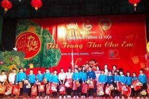 Lễ hội 'tết trung thu cho em' đã được phủ sóng tại 41 tỉnh thành trên toàn quốc
