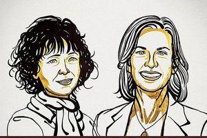 Giải Nobel Hóa học 2020 chính thức thuộc về hai nhà khoa học Pháp và Mỹ