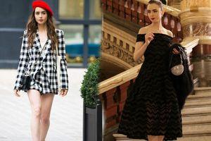 Mặc đẹp theo phong cách Pháp như Lily Collins trong bộ phim Netflix đình đám Emily in Paris