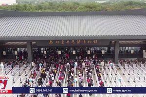 Du lịch Trung Quốc phục hồi trong Tuần lễ Vàng