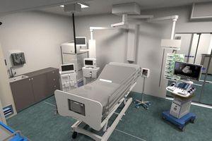 Siemens và Toutenkamion chế tạo buồng điều trị di động cho bệnh viện