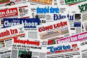 Chính phủ ban hành Nghị định về xử phạt hành chính trong hoạt động báo chí, xuất bản