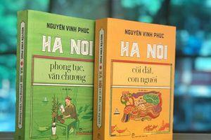 Ra mắt ấn bản mới hai công trình của nhà Hà Nội học Nguyễn Vinh Phúc
