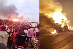 Nổ xe chở nhiên liệu ở Lagos, 5 người thiệt mạng