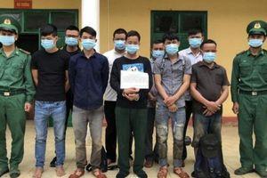 Kon Tum: Bộ đội Biên phòng Bắt giữ 10 đối tượng có hành vi xuất cảnh trái phép sang Lào