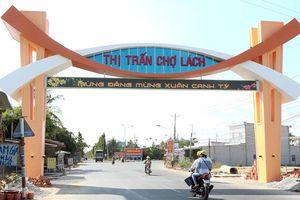 Huyện đầu tiên của Bến Tre được Thủ tướng Chính phủ công nhận đạt chuẩn nông thôn mới