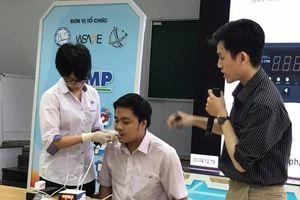'Chế tạo máy đo lực cắn ở người' giành giải nhất cuộc thi iUMP