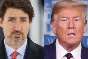 Thủ tướng Canada và Tổng thống Mỹ điện đàm trao đổi nhiều vấn đề