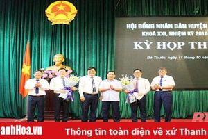 Chánh Thanh tra Sở KH-ĐT Thanh Hóa giữ chức Phó Chủ tịch UBND huyện Bá Thước