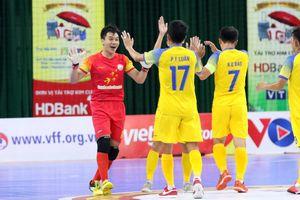 Lượt 14 giải Futsal HDBank 2020: Hai đội bóng Khánh Hòa thắng đậm