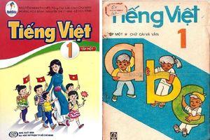 Chê sách Tiếng Việt lớp 1 mới, dân mạng đổ xô xem lại sách cũ