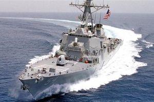 Chiến hạm Arleigh Burke trang bị siêu radar