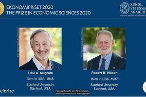Nobel Kinh tế 2020 vinh danh nghiên cứu về đấu giá