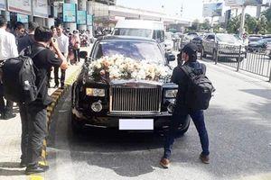 Dàn xế hơn trăm tỷ của 'đại gia điếu cày' rước dâu ở Hà Nội?