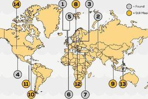 14 nơi được cho là ẩn chứa kho báu 'khủng' nhất thế giới