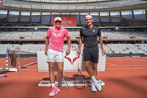 Chúc mừng đại kình địch Nadal, Federer nhận 'bão like'