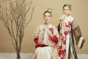 Linh Nga hóa 'nàng thơ' xinh đẹp khi chụp ảnh áo dài cùng mẫu nhí