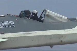 Phi công Nga lái tiêm kích Su-57 'mui trần' khiến báo Mỹ kinh ngạc