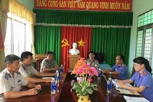 VKSND huyện Gò Công Đông trực tiếp kiểm sát tại Cơ quan THA dân sự