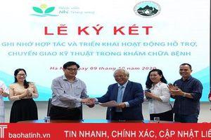 Bệnh viện Nhi Trung ương hỗ trợ chuyên môn cho BVĐK Hà Tĩnh