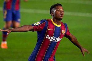 Vượt đàn anh Messi, Ansu Fati được La Liga vinh danh