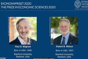 Nobel Kinh tế 2020 thuộc về 2 nhà kinh tế nghiên cứu lý thuyết đấu giá