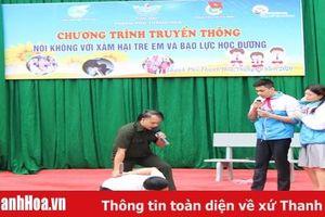 Truyền thông 'Nói không với bạo lực học đường và xâm hại trẻ em'