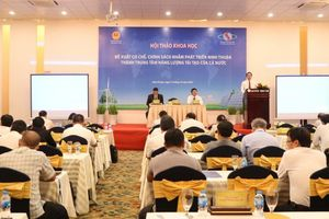 Phát triển Ninh Thuận thành trung tâm năng lượng tái tạo của cả nước