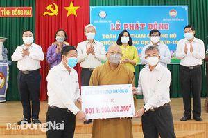 Đồng bào tôn giáo tỉnh Đồng Nai tích cực hoạt động từ thiện - xã hội