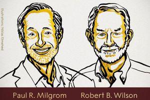 Giải Nobel Kinh tế thuộc về hai người Mỹ